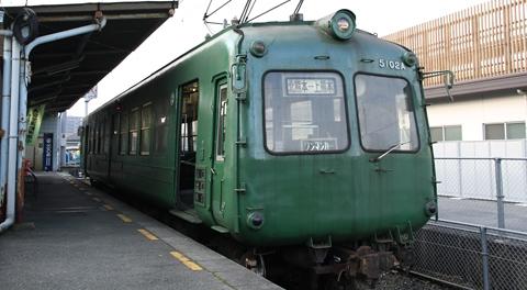 熊本電気鉄道「5000系電車」(通称:青ガエル)を改めて見てみる