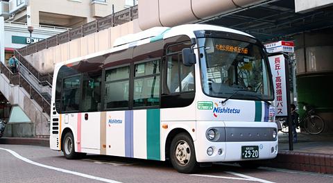 西日本鉄道「長丘高宮循環バス」日野ポンチョを見てみる