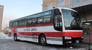 北海道中央バス「高速るもい号」直行便 1496