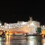 川崎近海汽船(シルバーフェリー)「シルバープリンセス」乗船記