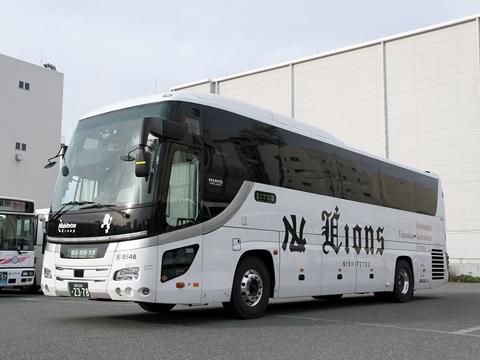 西鉄高速バス「ライオンズエクスプレス」 8546