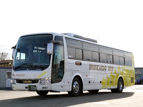 北海道バス「釧路特急ニュースター号」 ・993 釧路湖陵高校前にて
