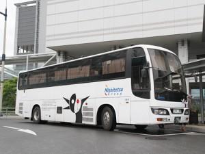 西鉄高速バス「さぬきEXP福岡号」・796 高松駅到着(H24.06.17)
