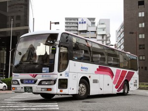 西鉄高速バス「桜島号」 1981
