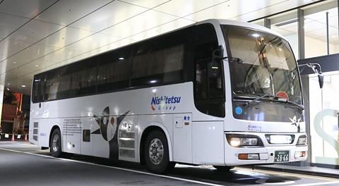 西鉄高速バス「桜島号」夜行便4012号車 乗車記(2015年9月乗車分)