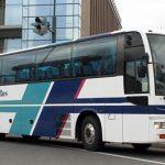 道北バスの西工製都市間路線用1058号車(元「ライオンズエクスプレス」予備車)を見てみる