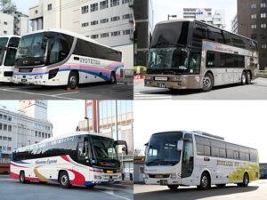 夜行バス紀行02_乗車したバス