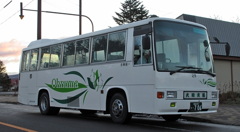 大沼交通「函館空港シャトルバス」 ・706_01