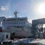 津軽海峡フェリー「ブルーマーメイド」乗船記
