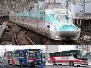 北海道新幹線開業に伴うバス会社の対応について