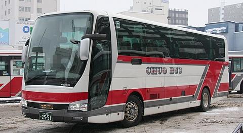 北海道中央バス「ドリーミントオホーツク号」2551(H22.02.19)