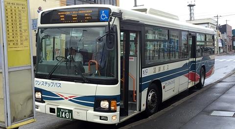 沿岸バス「豊富留萌線」乗車記(その1) 留萌十字街→羽幌本社(タ)