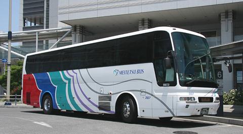 名鉄バス「名古屋~新潟線」昼行便2607号車 乗車記