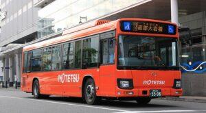 伊予鉄道 5508 日野新型ブルーリボン