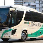 福岡で見かけたバス達(西鉄バスなど)とJAC3595便