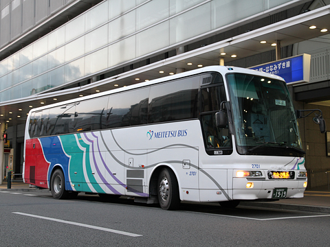名鉄バス「名古屋松山線」 2607