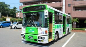 西鉄バス宗像「志賀島ぐりーん」 5718