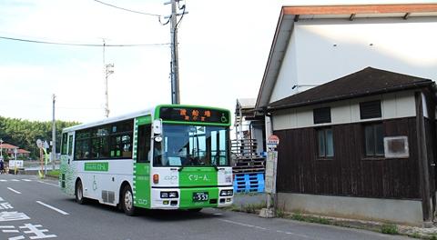 西鉄「ぐりーん」第2の活躍先を訪れる 【その1】 福岡市西区能古島