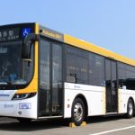 西鉄の「福岡都心連節バス」を見てみる