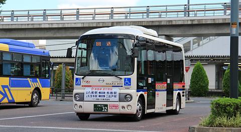 大阪バス「久宝寺出戸線」を見てみる