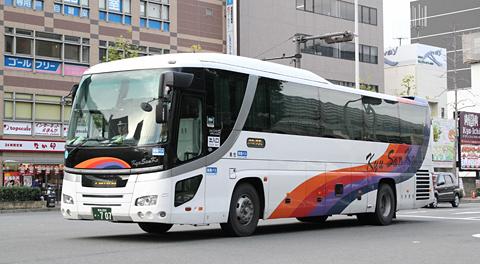 九州産交バス「サンライズ号」 ・707