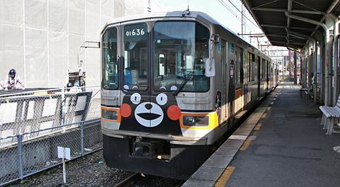 熊本電気鉄道「01形電車」を見てみる