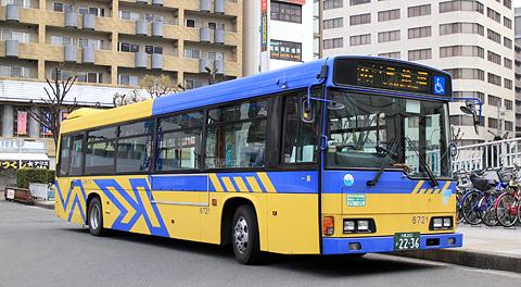 近鉄バス 萱島バス停&「八尾~住道~萱島線」を見てみる