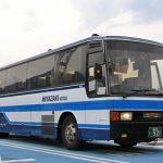 宮崎交通「はまゆう号」921号車(三菱MS7系エアロバス U-MS726S)