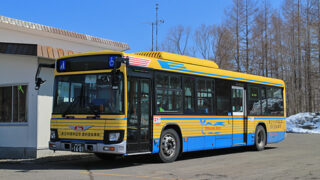十勝バス 広尾線 復刻塗装車 1601 アイキャッチ用 480