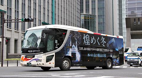 防長交通「萩エクスプレス」655号車 乗車記