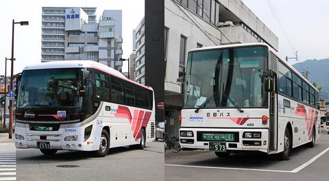 西鉄高速バス&日田バス「ゆふいん号」 簡単な乗車記
