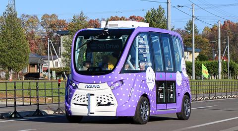 北海道初の自動運転バス実証実験を見に上士幌町へ行ってきました