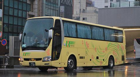 弘南バス「津輕号」 あずまシート乗車記(2017年10月乗車分)