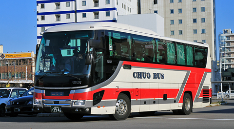 北海道中央バス「高速はこだて号」3946号車 乗車記(2017年10月乗車分)