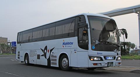 西鉄高速バス「桜島号」夜行便 4012号車 乗車記(2018年春 乗車分)