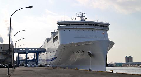 新日本海フェリー「らべんだあ」(新船) 乗船記