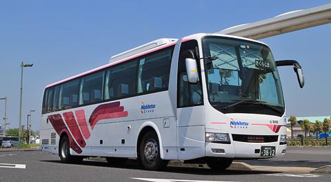 西鉄高速バス「桜島号」4列シート車に乗ってみました