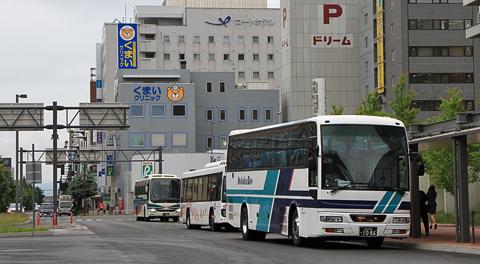 都市間バスの乗り入れが始まった旭川駅前バスタッチ