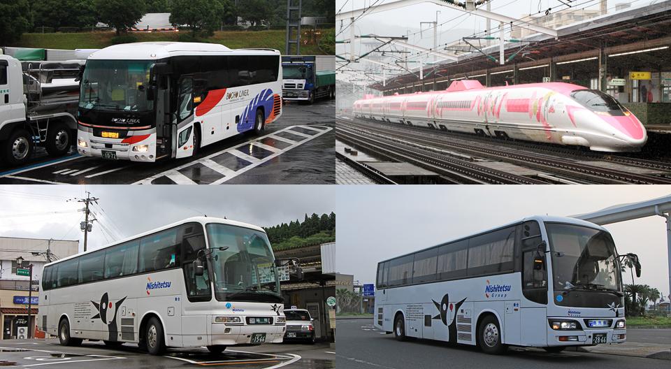 西日本豪雨の影響を受けた2018年7月の本州・九州訪問(「萩エクスプレス」「ごかせ号」「桜島号」など)
