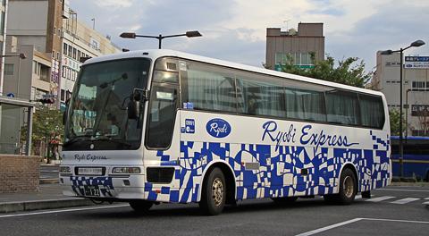 両備ホールディングス「リョービエクスプレス名古屋号」 0991号車 簡単な乗車記
