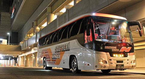 南海ウィングバス南部「サザンクロス」東京~なんば・和歌山線 1814 なんば高速バスターミナル改札中 アイキャッチ 480