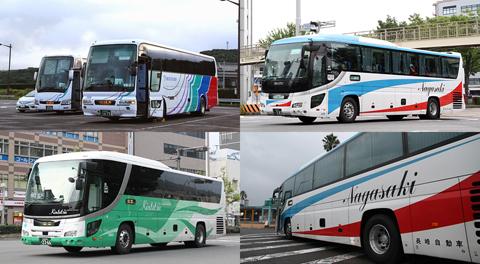「グラバー号」廃止と「オランダ号」近鉄バス単独運行化について ~長崎自動車が夜行高速バスの運行から完全撤退~