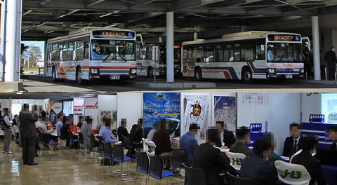 「バス運転手合同採用説明会in札幌」にお邪魔して来ました