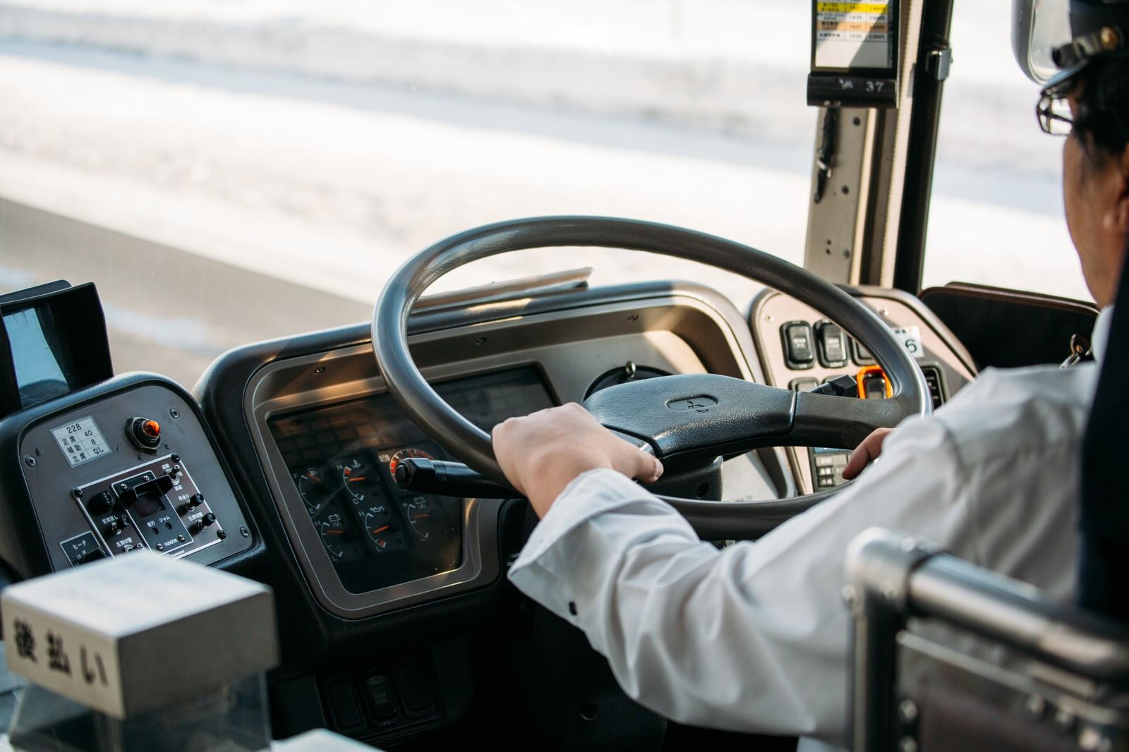 高速バス運転手