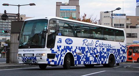両備ホールディングス「リョービエクスプレス名古屋号」 0991号車 簡単な乗車記(追記あり)
