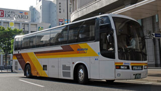 西鉄高速バス「道後エクスプレスふくおか号」 3134 アイキャッチ用 480
