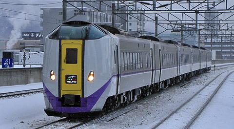 JR北海道 261系1000番台「スーパーとかち1号」 アイキャッチ用 480