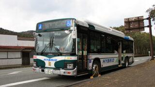 三重交通「松阪熊野線」 1712 滝原宮前にて アイキャッチ用 480