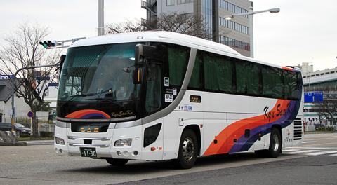 九州産交バス「不知火号」 1130 アイキャッチ用 480