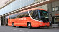 伊予鉄バス「八幡浜・三崎特急線」(松山~八幡浜・三崎)で活躍する元高速車5251号車